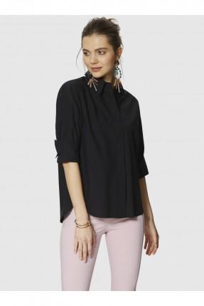 قميص نسائي سبور - اسود