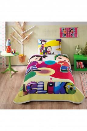طقم بطانية سرير اطفال مع رسمة