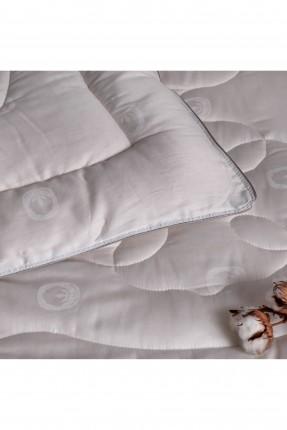 لحاف سرير بيبي ابيض 95 * 145 سم