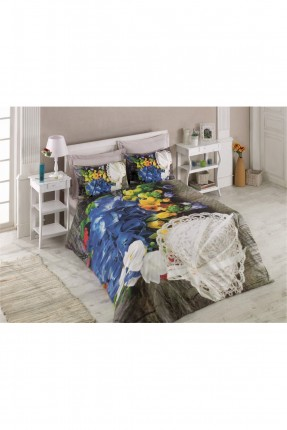 طقم غطاء سرير مزدوج طبيعة ورود