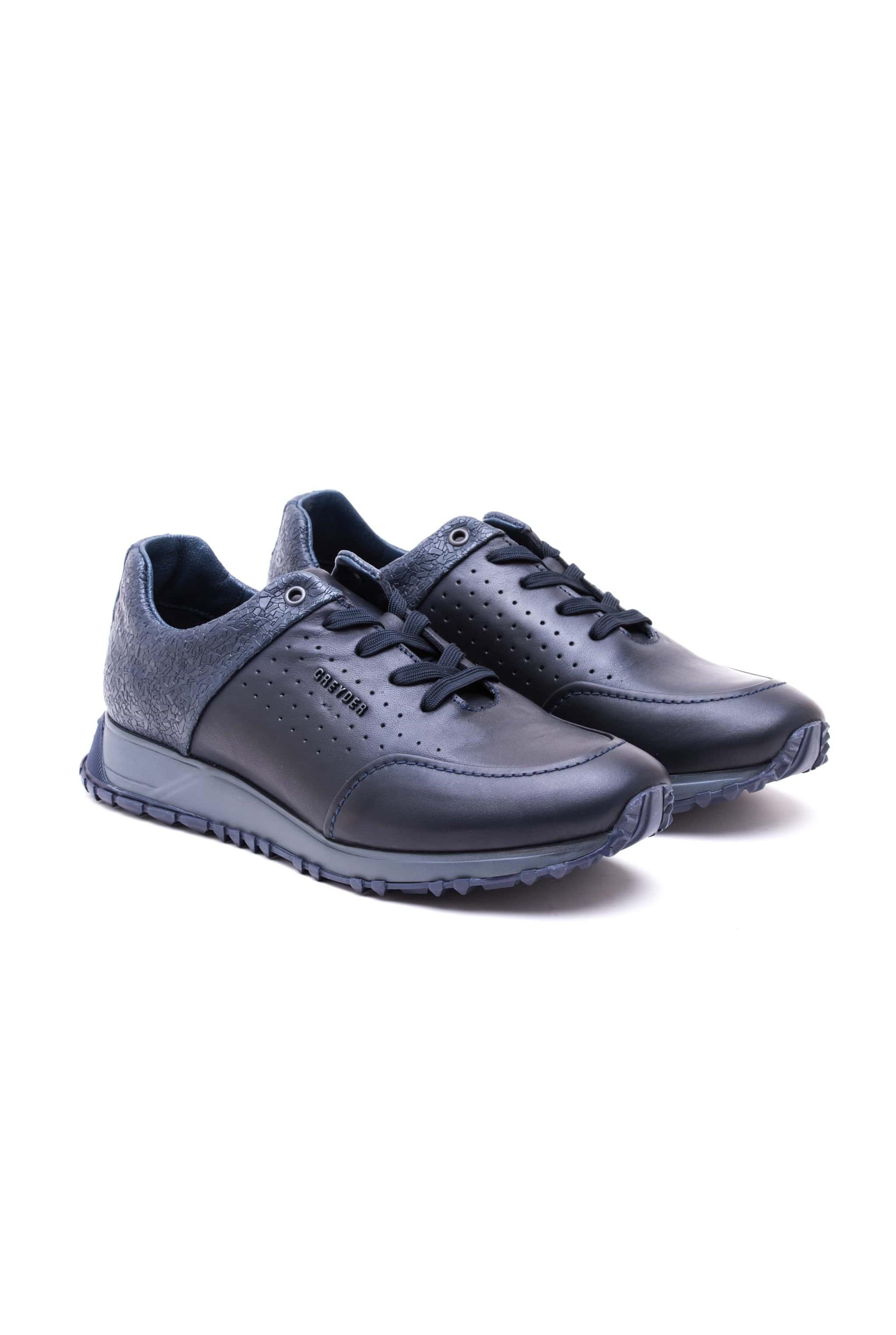 61dce0cbf بوط رجالي رياضي - ازرق داكن | غرايدر - Greyder | تسوق اون لاين في تركيا |  سوق ادويت