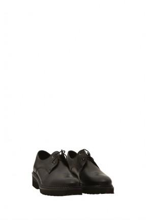 حذاء نسائي رسمي مع ربطات _ اسود