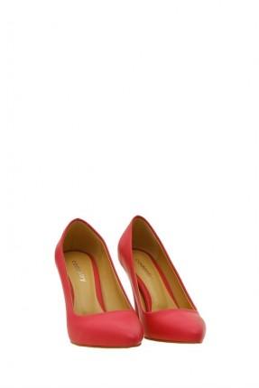 حذاء نسائي راس اصلبع مدبب وكعب رفيع