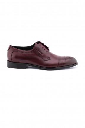 حذاء رجالي مفرغ - خمري