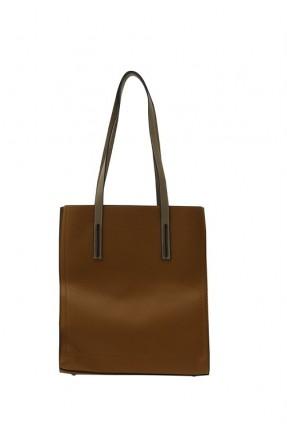 حقيبة يد نسائية مع حبكة