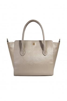 حقيبة يد نسائية جلد سادة سبور شيك