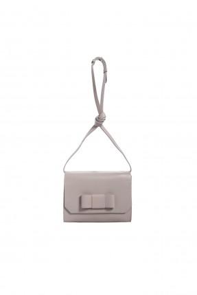 حقيبة يد نسائية جلد مزينة فيونكة سبور