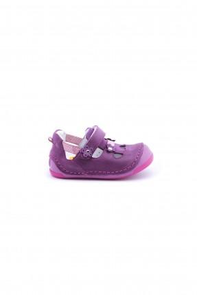 حذاء  اطفال بناتي مع وردة - موف