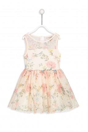 فستان اطفال بناتي دانتيل مزهر