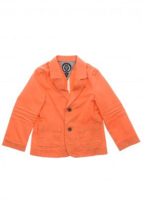جاكيت اطفال ولادي رسمي - برتقالي