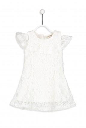 فستان اطفال بناتي دانيتل  مع فتحة على الكتف