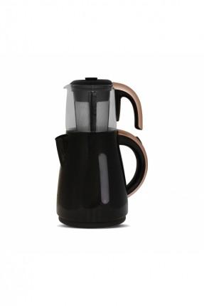ماكينة شاي كهربائية - مقبض ذهبي / 1500 واط /