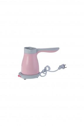 ماكينة قهوة كهربائية - وردي / 330 مل /