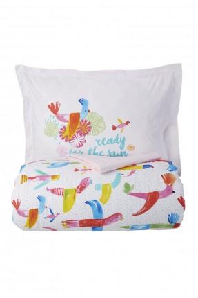 طقم غطاء سرير اطفال برسومات