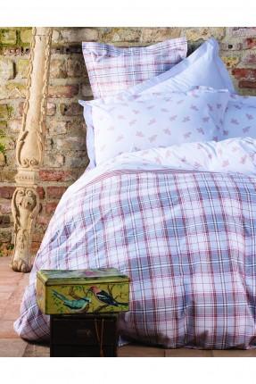 طقم سرير مزدوج كارو - حجم كبير / 3 قطع /