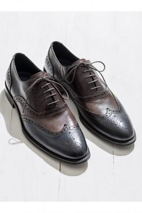 حذاء رجالي منقش رسمي