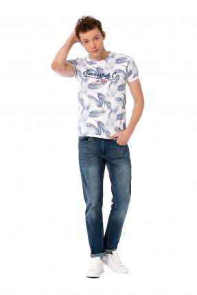 بنطال شبابي جينز مع كحتة