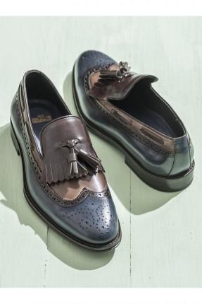 حذاء رجالي مع شراشيب
