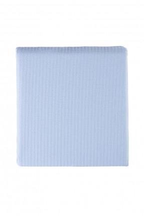 بطانية سرير مزدوج - لون ازرق / 220 * 240 سم /