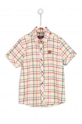 قميص اطفال ولادي نص كم كارو