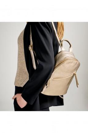 حقيبة ظهر نسائية مع سحاب