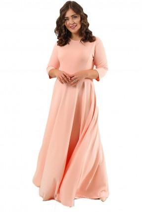 فستان طويل سادة رسمي