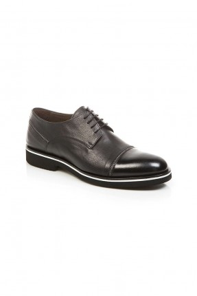 حذاء رجالي جلد شيك - اسود