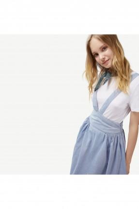 فستان نسائي موديل X من الامام و الخلف