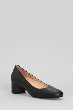 حذاء نسائي بكعب - اسود