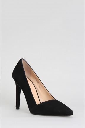 حذاء نسائية بكعب - اسود