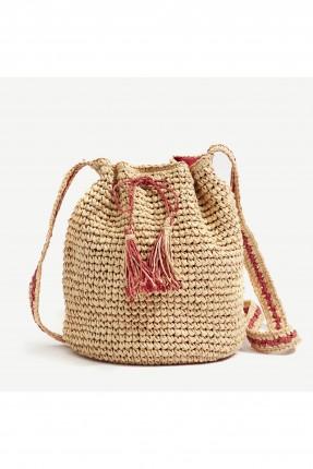حقيبة يد نسائية موديل من القش