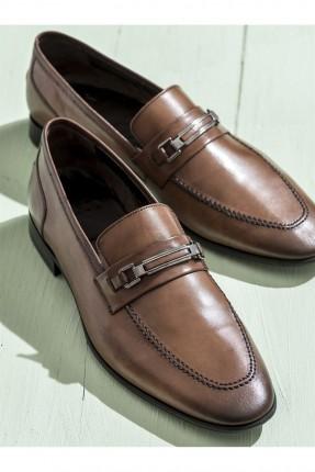 حذاء رجالية - بني