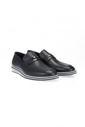 حذاء رجالي بخط من الاسفل - كحلي