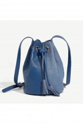 حقيبة يد نسائية موديل زم - ازرق
