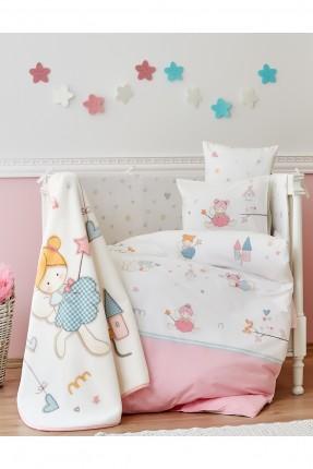 بطانية سرير بيبي بقياس 100 * 120 سم