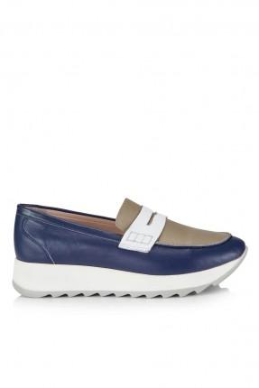حذاء نسائي مع درزة _ ازرق داكن