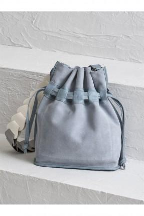 حقيبة يد نسائية زم - ازرق