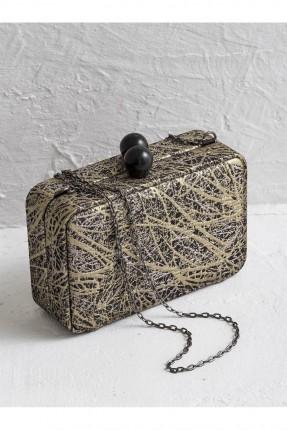 حقيبة يد نسائية سلسال منقشة