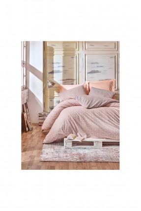 طقم غطاء سرير فردي - قطن