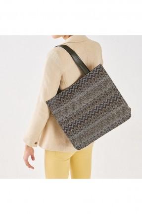 حقيبة يد نسائية مزخرفة _ زيتي