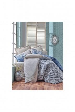 طقم سرير مزدوج / غطاء لحاف - شرشف - غطاء وسادة /
