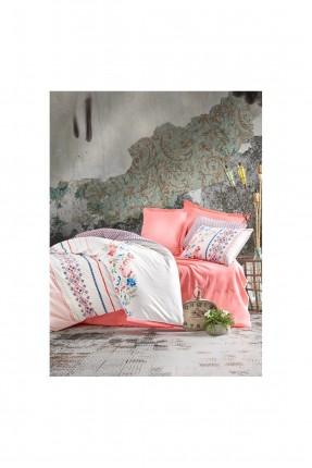 طقم غطاء سرير مزدوج برسومات