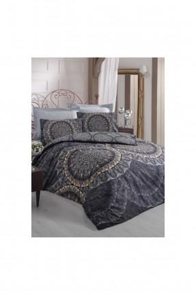 طقم غلاف سرير مزدوج قماش ساتان