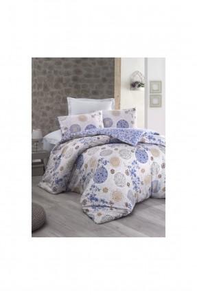 طقم غطاء سرير مزدوج  - قماش رانفورس