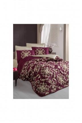 طقم لحاف سرير مزدوج - مزخرف