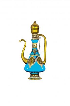 ابريق زجاج عثماني - نقش ذهبي