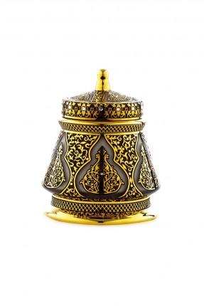 سكرية بنقش ذهبي - طراز عثماني