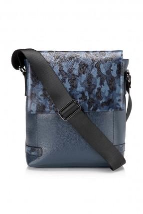 حقيبة كتف رجالية _ ازرق داكن