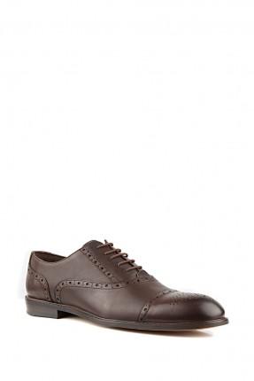 حذاء رجالي رسمي جلد - بني