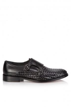 حذاء رجالي رسمي مزخرف _ اسود